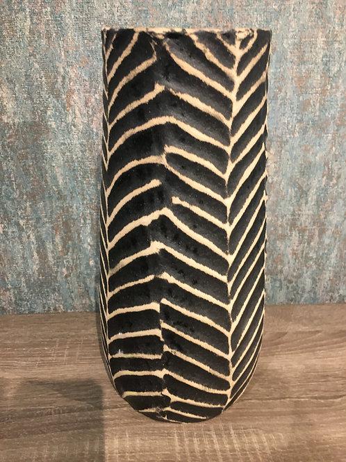 Ethnic ceramic vase