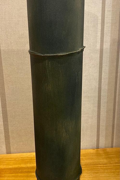 Bamboo trunk vase