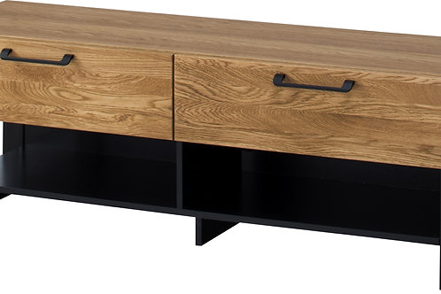 Mosaic TV Unit with 2 Drawers