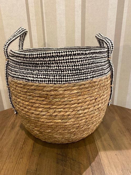 Small Natural pot with handles