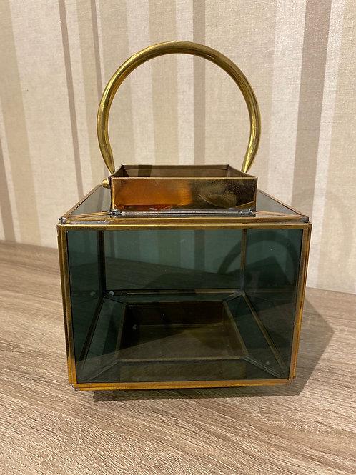 Brass box lantern