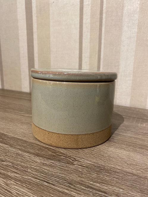 Sm green jar