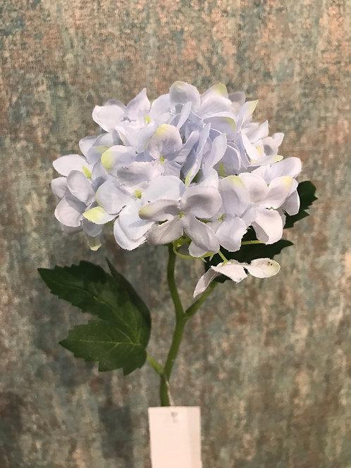 Pale blue hydrangea Pick