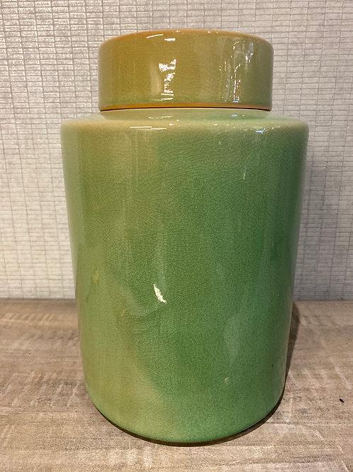 Green jar large