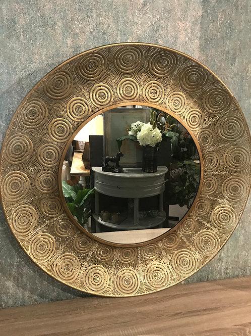 Ant gold mirror