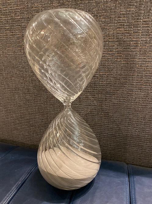 Large twist hour glass