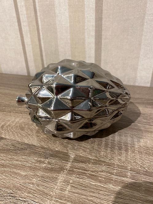 Porcelain pine cone