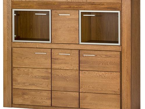 Velvet 5 Door Cocktail Cabinet