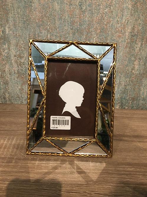 Mirrored photo frame