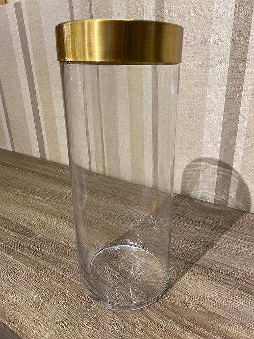 Vase brass ring