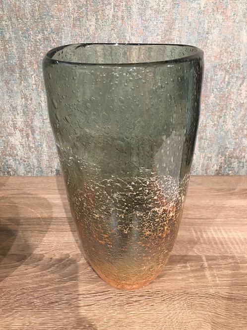 Glass ocean vase