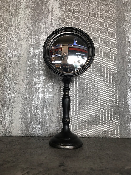Mirror on stand