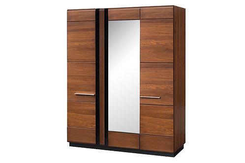 Porti 3 Door Wardrobe with Mirror
