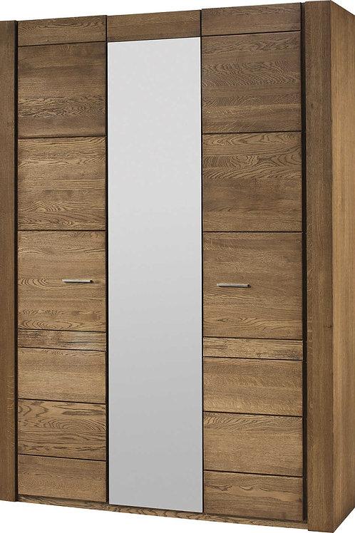 Velvet 3 door Wardrobe with Mirror