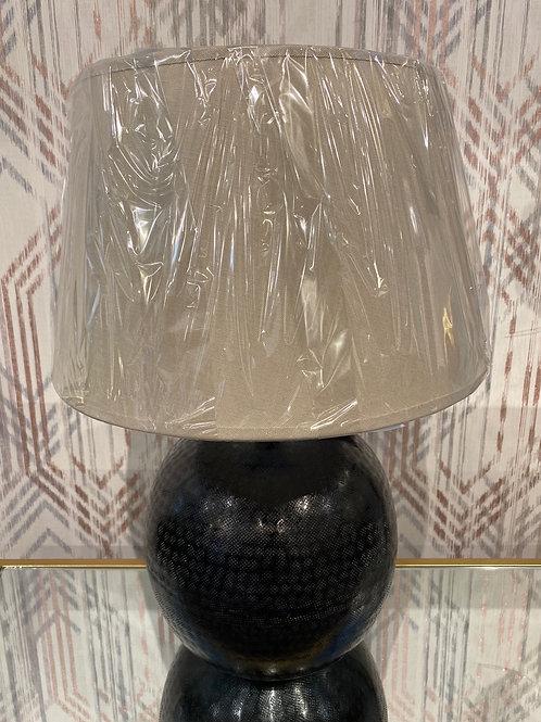 Black Aluminium lamp