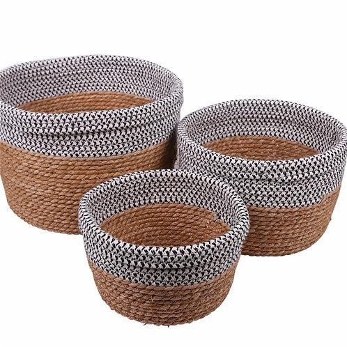 Basket set of 3