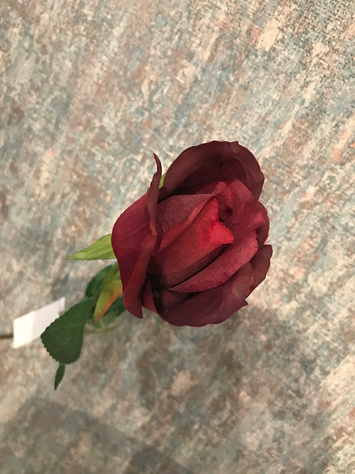 Singl rose bud red
