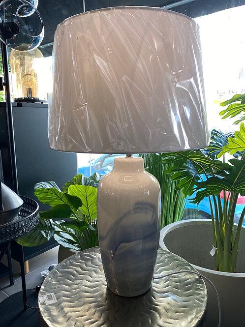 Blue wave lamp