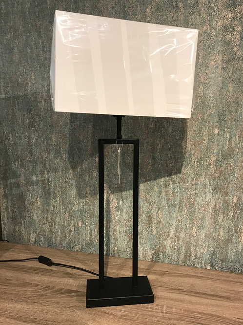 Black tall lamp