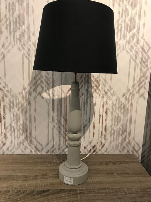 Grey wooden lmap