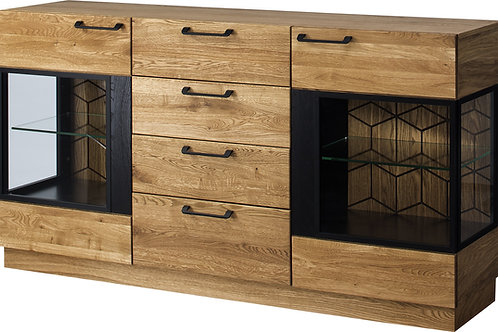 Mosaic 2 door sideboard with 4 drawers