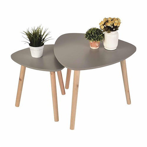 Set of 2 nest table