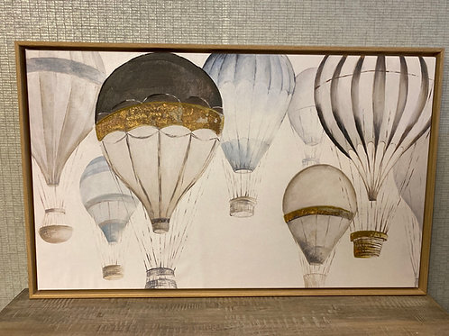 Hot air balloons - Painting on canvas