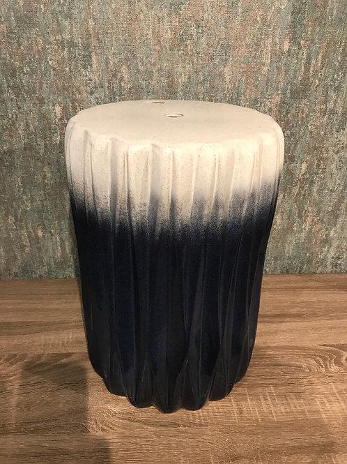 Azul ceramic stool