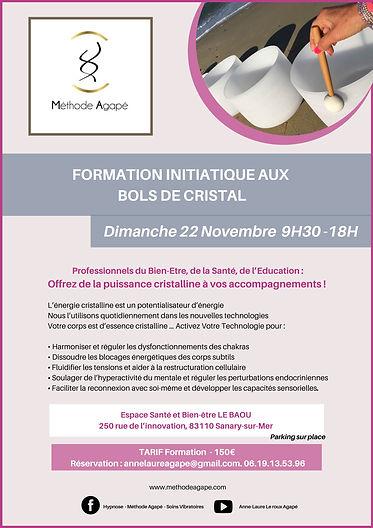 FORMATION INITIATIQUE AUX BOLS DE CRISTA