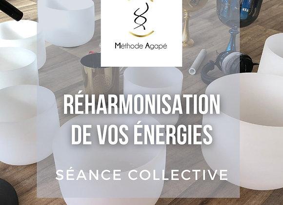 Soin Collectif Réharmonisation des énergies aux bols de Cristal (11/08/21)