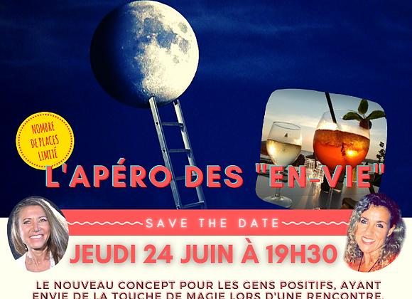 """L'Apéro des """"En-Vie"""" du jeudi 24 juin à La Voile (Plage de Bonnegrâce) Six Fours"""
