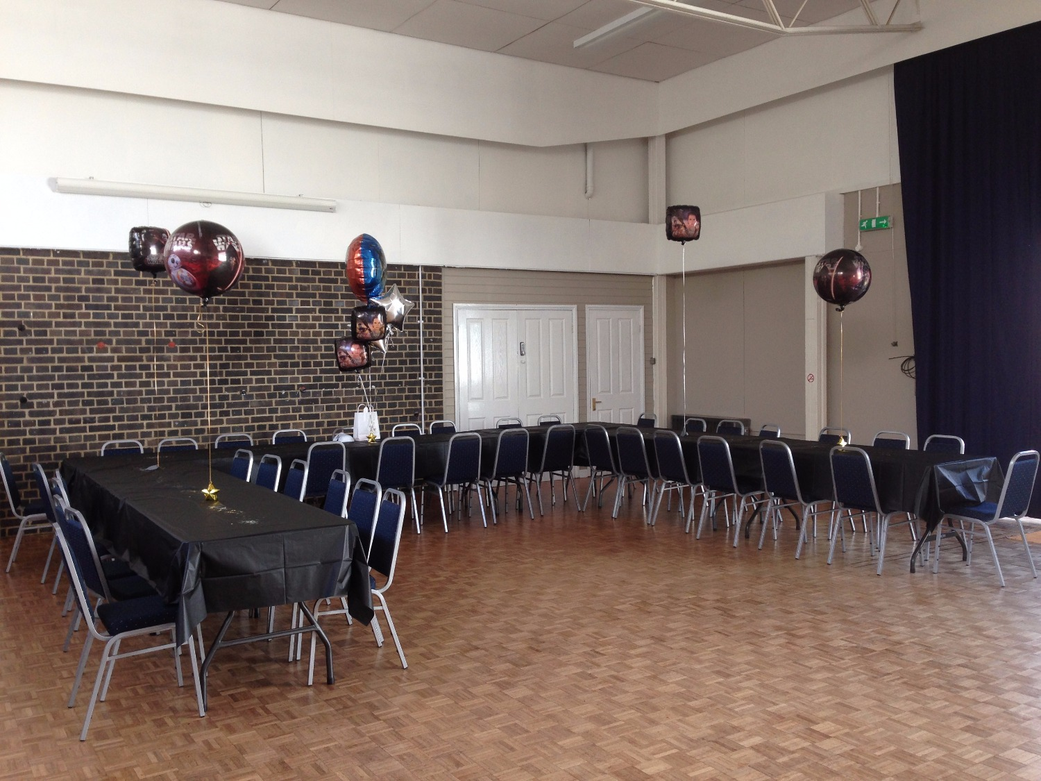 Birthday party in the Main Hall