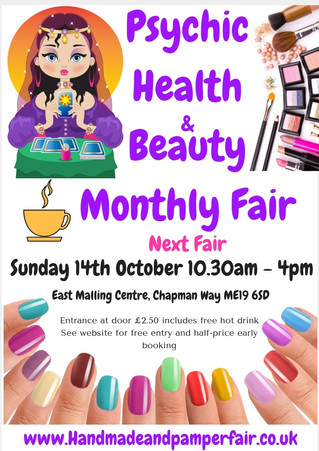 Psychic Health & Beauty Monthly Fair