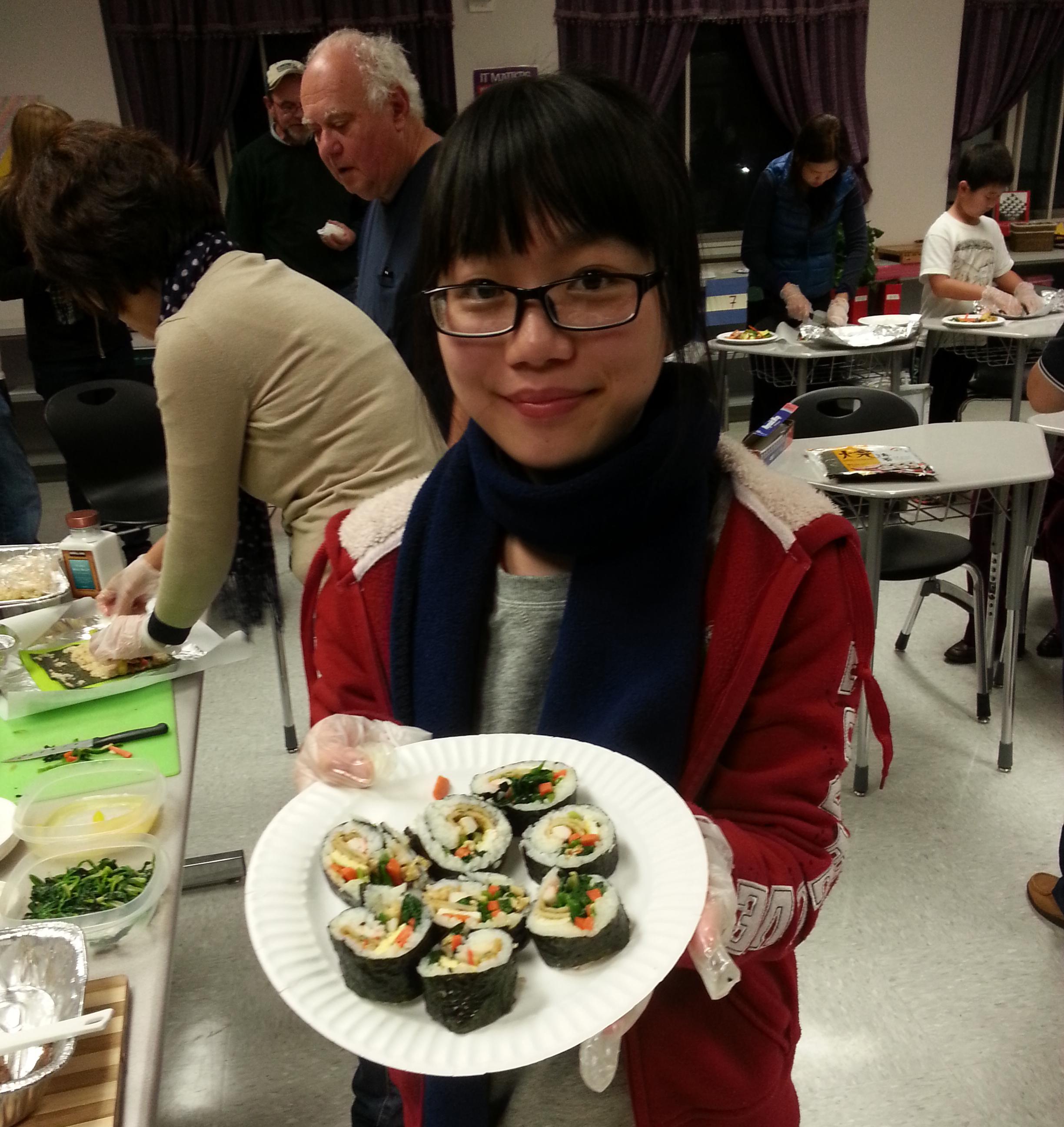 Cooking Class-Kimbop