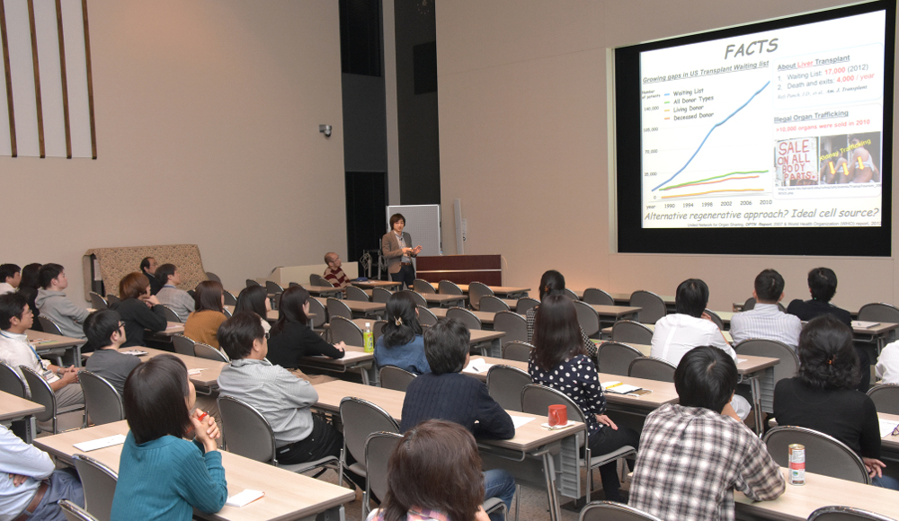 Seminar by Dr. Takebe