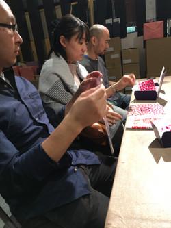 Wrapping Shingen-mochi