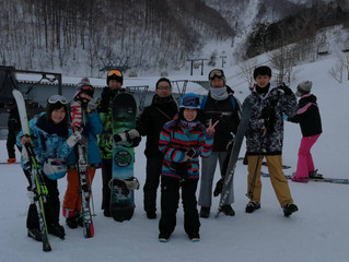 Lab Ski/Snowboard Trip to Kawaba Ski Resort / 川場スキー場へ研究室スキー/スノボ旅行