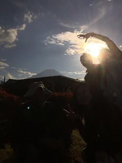 Mt. Fuji from Oshino Hakkai 1