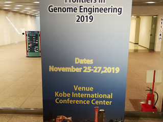 Frontiers in Genome Engineering 2019 in Kobe