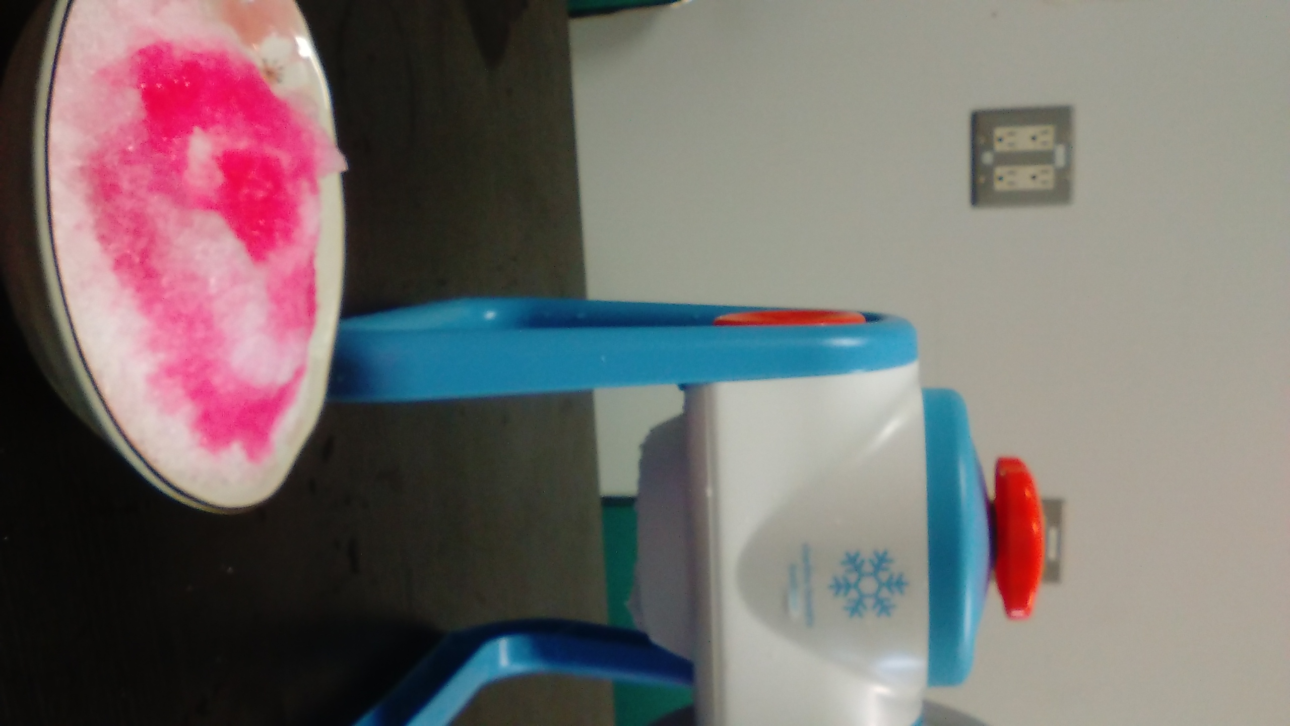 Shaved Ice in the Lab