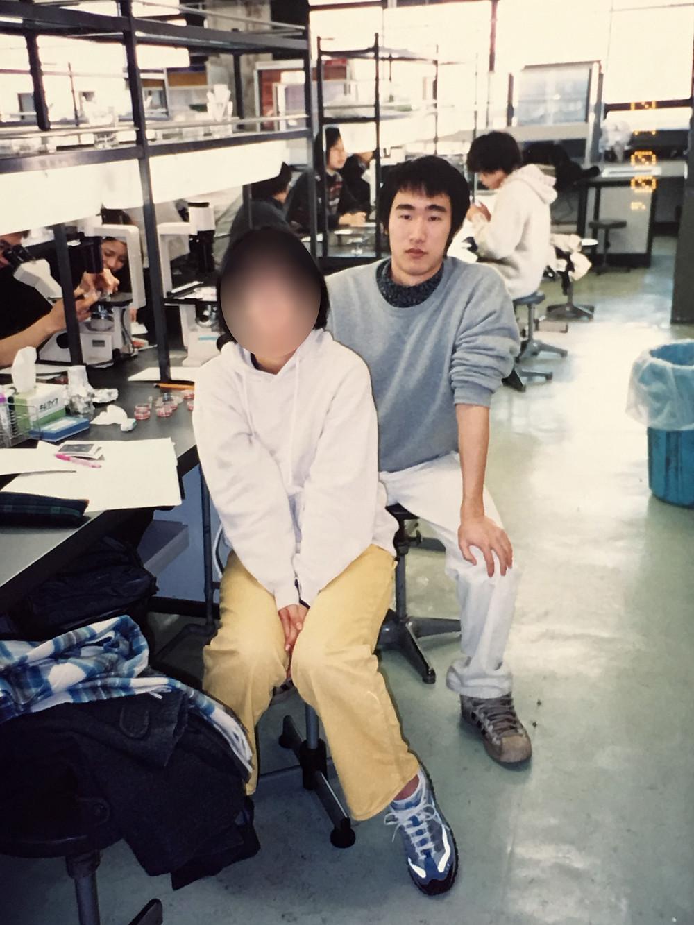 2000年に同じゼミを受講した際の自分/I took the same class in 2000.