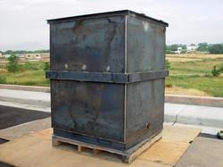Steel tank fabrication