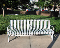 City Benches Fabrication
