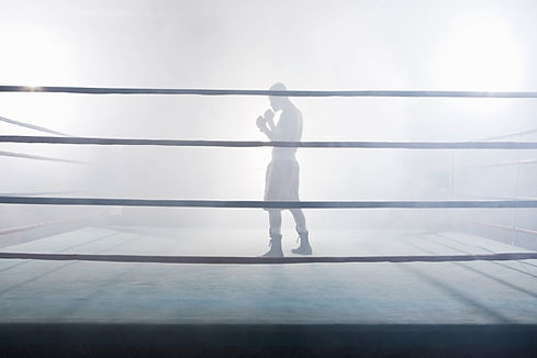 I boxningsringen