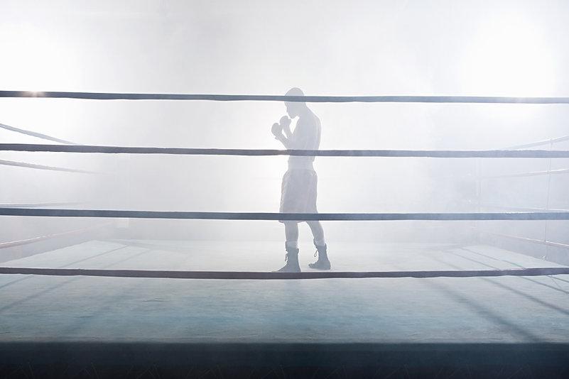 In de boksring
