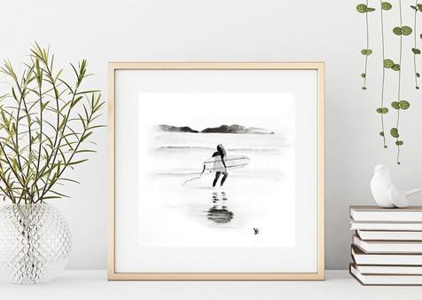 Salt Soul framed