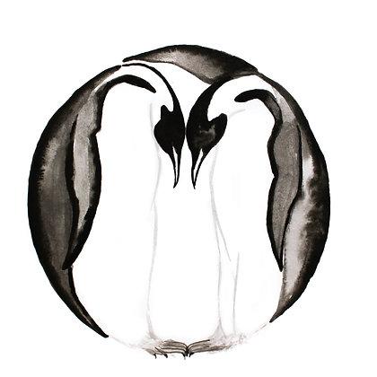 Circle: Penguin Couple