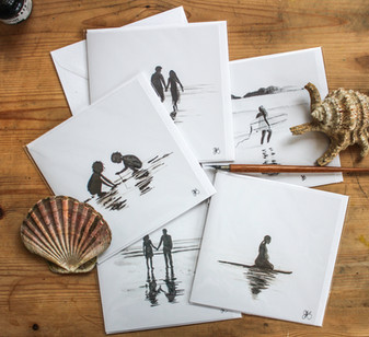 Silhouette cards selection