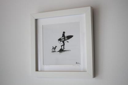 Sea Dog mini print
