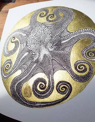 Circle: Octopus Print